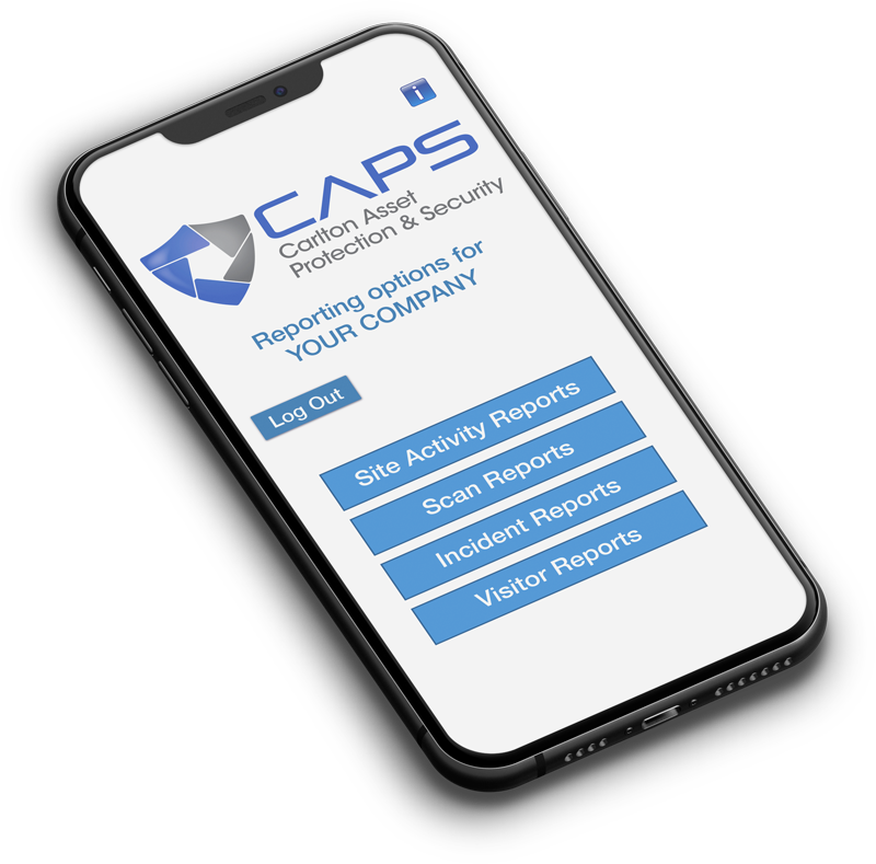 Caps Management Portal iPhone